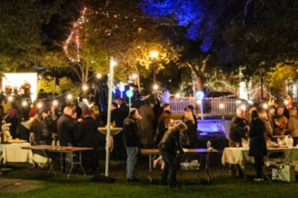 Carmel-by-the-Glass Event in Devendorf Park, Carmel-by-the-Sea