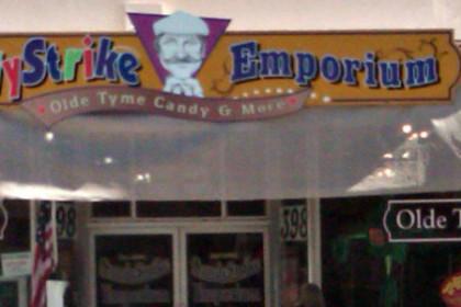 Storefront of Candy Strike Emporium