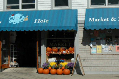 Woods Hole Market convenient to Woods Hole Inn in Woods Hole on Cape Cod