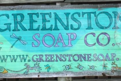 Greenstone Soap Company Sign