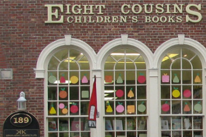 Game Night with Gamewright at Eight Cousins bookstore in Falmouth Village Cape Cod Massachusetts