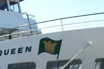 Island Queen Ferry in Falmouth Cape Cod