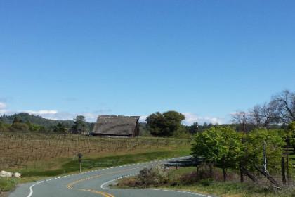 Busby Cellars Barn in their vineyard