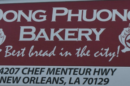 Signage for Don Phuong Bakery