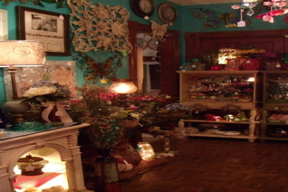 Inside view of Harrison's Gifts - Grafton