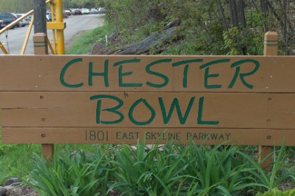 Chester Bowl Sign