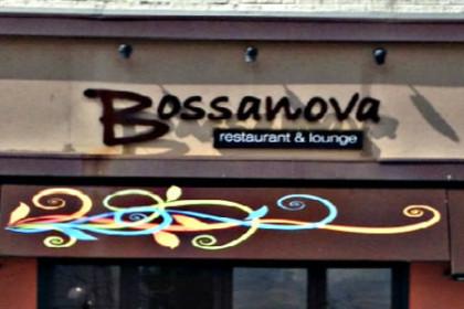 Outdoor facade of Bossanova Restaurant