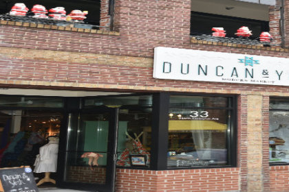 Front of store Duncan & York
