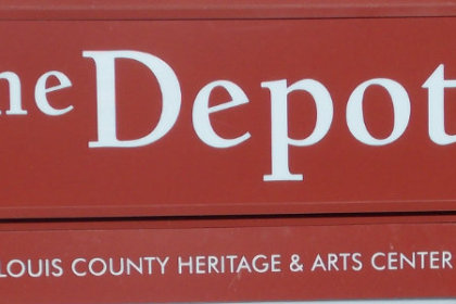 The Depot Sign