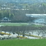 Color photo overall view of Hersheypark Stadium
