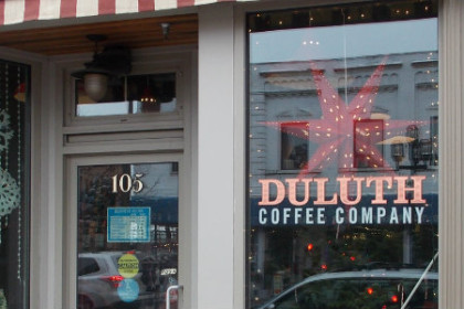 Duluth Coffee Company in downtown Duluth MN