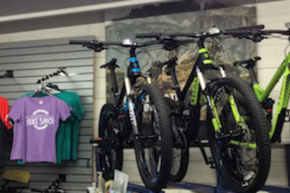 Placerville Bike Shop - bikes and shirts