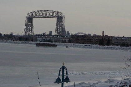 Lake Superior Aerial Lift Bridge