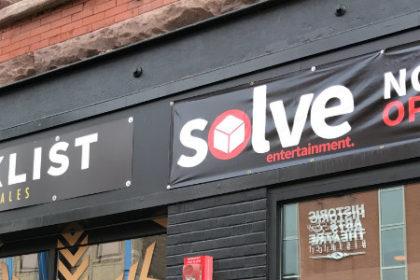 Solve Entertainment Duluth Minnesota